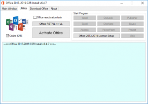 Office 2013-2019 C2R Install + Lite 6.8 Portable by Ratiborus [Ru/En]