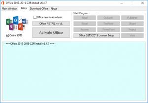 Office 2013-2019 C2R Install + Lite 7.04 Portable by Ratiborus [Ru/En]