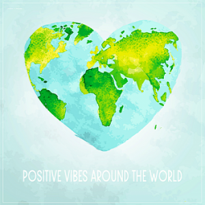 VA - Positive Vibes Around The World