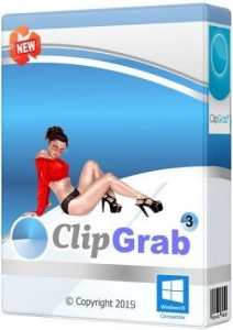 ClipGrab 3.8.1 RePack (& Portable) by TryRooM [Multi/Ru]