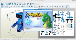Pepakura Designer 4.1.5 RePack (& Portable) by elchupacabra [Ru/En]