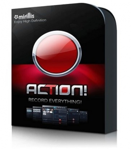 Mirillis Action! 4.17.1 RePack (& Portable) by KpoJIuK [Multi/Ru]