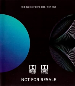 Dolby UHD Blu-Ray Demo Disc (March 2018)