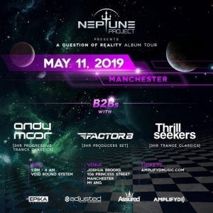 Neptune Project & Andy Moor - Live @ A Question Of Reality Album Tour, Joshua Brooks, Manchester, United Kingdom 2019-05-11