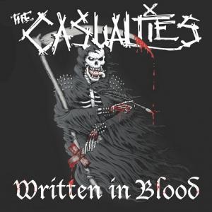 The Casualties - Written in Blood