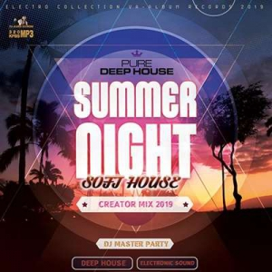 VA - Summer Night: Creaton Soft House Electro Mix