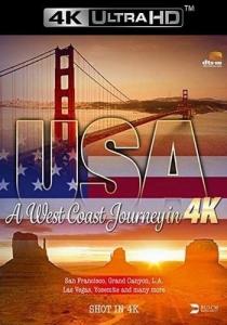 США. Путешествие по Западному побережью в 4K