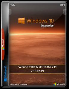 Windows 10 Enterprise 1909 x64 Rus by OneSmiLe [18363.592]