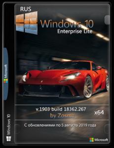 Windows 10 Enterprise x64 lite 1903 build 18362.267 by Zosma