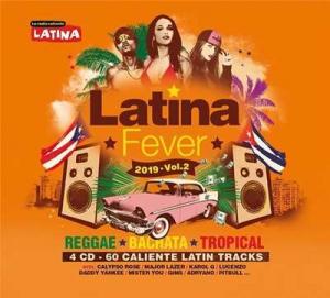 VA - Latina Fever 2019 Vol.2 4CD