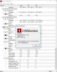CPUID HWMonitor 1.44 + Portable [En]