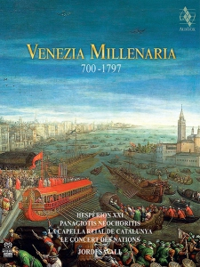 Jordi Savall, Hespèrion XXI, Le Concert des Nations - Venezia Millenaria 2CD Box Set