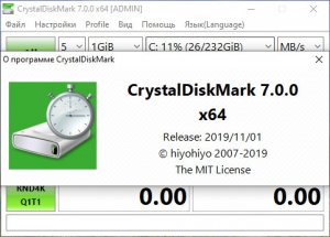 CrystalDiskMark 7.0.0h + Portable [Multi/Ru]
