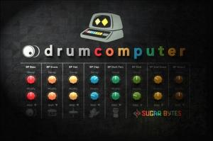Sugar Bytes - DrumComputer 1.1.0 STANDALONE, VSTi, AAX (X64) [En]