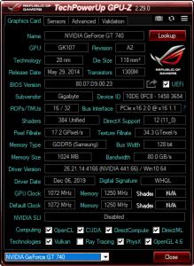 GPU-Z 2.40.0 + ASUS_ROG [En]