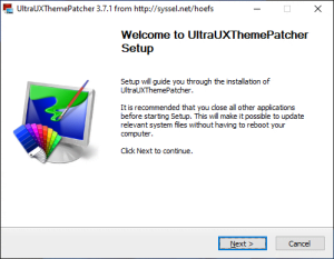 UltraUXThemePatcher 4.1.2 [En]