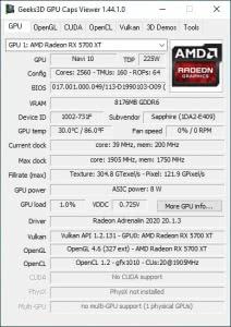 GPU Caps Viewer 1.44.1.0 + Portable [En]