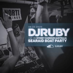 DJ Ruby - Live @ Sea Raid Boat Party, Sydney Harbour, Australia 2020-02-08