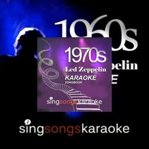 The Karaoke Band - The Led Zeppelin 1960- 70s Karaoke Songbook 1 2CD