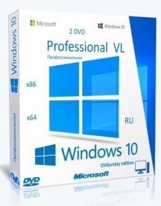 Microsoft® Windows® 10 Professional VL x86-x64 2004 20H1 RU by OVGorskiy® 07.2020 2DVD