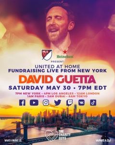 David Guetta - United At Home: Fundraising Live From New York City, United States 2020-05-30