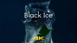 Чёрный лёд