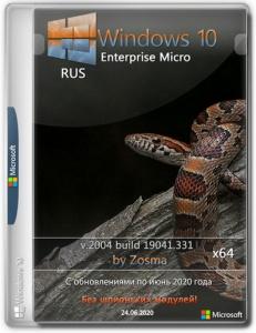 Windows 10 Enterprise x64 micro 2004 build 19041.388 by Zosma [Ru]