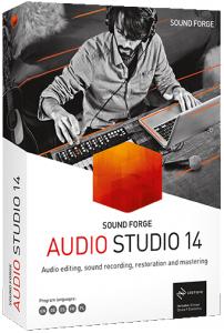 MAGIX SOUND FORGE Audio Studio 14.0.75 (x86/x64) [Multi]