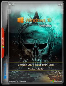 Windows 10 Enterprise 2004 x64 Rus by OneSmiLe [19041.388]