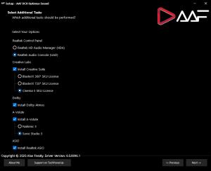 AAF Audio Pack DCH 6.0.9003.1 Realtek Mod by AlanFinotty1995 [En]