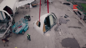 Демонтаж самолетов