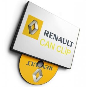 Renault CAN Clip v204 [Multi/Ru]