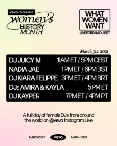 Juicy M - Live @ Vevo Celebrates Women's History Month, Ukraine (2021-03-31)