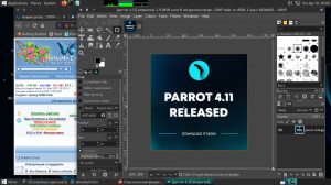 Parrot OS Security 4.11 [amd64] 1xDVD