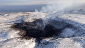 Извержение исландского вулкана