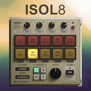 TBProAudio - ISOL8 2.4.0 VST, VST3, AAX [En]