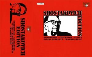 Shostakovich Edition / Дм.Шостакович - Собрание сочинений (27CD)